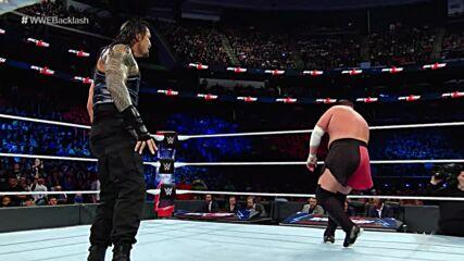 Roman Reigns vs. Samoa Joe: WWE Backlash 2018 (Full Match)