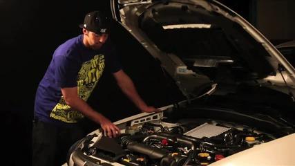 Поставяне на колд еър интейк на Subaru 09 Wrx