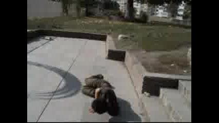 Пребиване Със Скейт