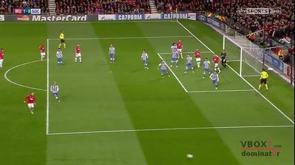 23.10.13 Манчестър Юнайтед 1 - 0 Реал Сосиедад - Най-доброто от мача