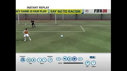 Fifa 08 красив гол епизод 18