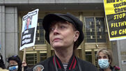 USA: Susan Sarandon, Roger Waters join rally in support of lawyer Steven Donziger