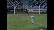 Aj Auxerre - Fc Kobenhavn Penalty kick (fifa12)