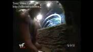W W F Smackdown - The Rock & Mankind vs Undertaker & The Big Show Buried Alive Mathc Tag Titles