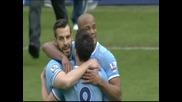 Манчестър Сити победи Уест Хем с 2:0