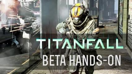 Геймплей от Titanfall Beta
