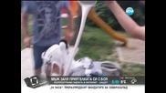 Мъж заля с боя приятелката си и разпространи в интернет - Здравей, България (07.08.2014г.)