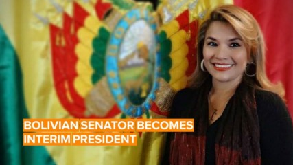 Meet Bolivia's new interim president: Jeanine Añez
