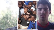 Cambio Cambio Cares Joe Jonas in Africa