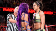 Sasha Banks & Bayley vs. Liv Morgan & Sarah Logan: Raw, June 18, 2018
