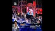 Жестокия импровизиран сблъсак за и против ИВАН в music idol - стана напчено!!част 2/3 - music idol - 09.04.08 HQ