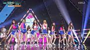 207.0701-5 Brave Girls - High Heels, Music Bank E843 (010716)