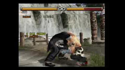 Tekken 3 - King Throws Vbox7