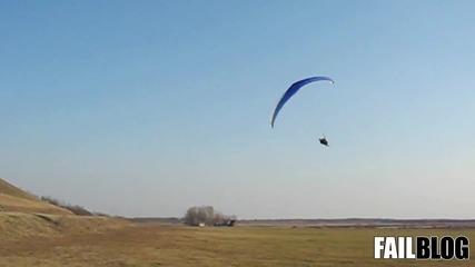 парашутист удря минибус