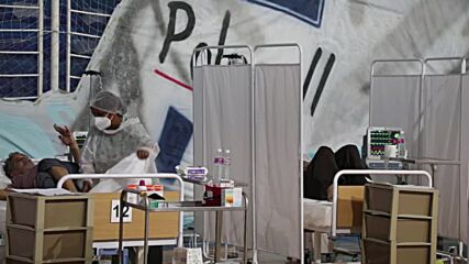 Tunisia: Ezzahra basketball stadium transformed into hospital unit for COVID patients