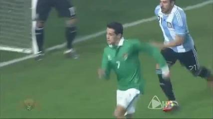 Страхотен Гол на Рохас Copa America 2011