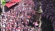 San Fermin Festival Mayhem Explodes Before Running of the Bulls