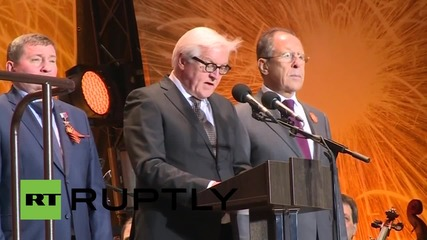 Russia: Lavrov and Steinmeier commemorate Battle of Stalingrad