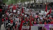 France: Vegans protesters demand closure of slaughterhouses in France