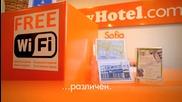 Евтин нискобюджетен бизнес хотел в София център - easyhotel Sofia / Low Cost colors