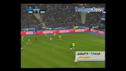 Франция 1 - 0 Бразилия [09.02.2011] ( Всички голове )