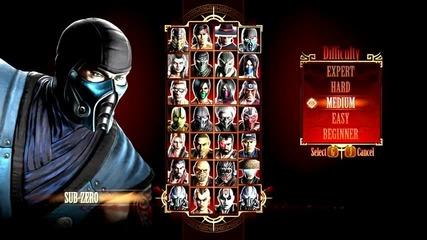 Mortal kombat kompete edition игра срещу компютъра
