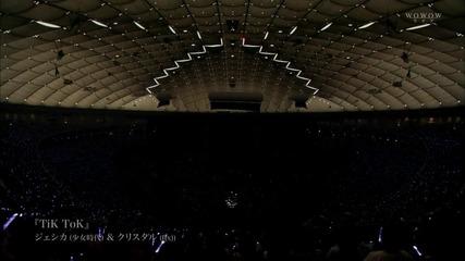 Jessica feat. Krystal - Tik Tok (wowow smtown live in Tokyo special edit. 2011.11.13)