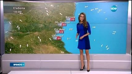 Прогноза за времето (22.05.2015 - централна)
