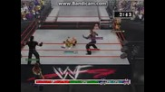 The Hardy Boyz (with Lita) vs The Holly Cousins (with Molly Holly)
