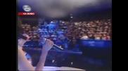 Данчо Караджов и Ана пеят невероятно в дует - Да те жадувам - music idol - 21.04.08 GQ