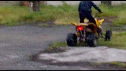 Zongshen 200cc - На странични гуми