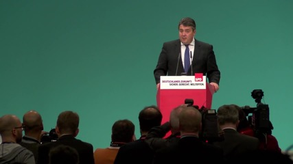 Germany: Vice-Chancellor Sigmar Gabriel re-elected as head of SPD