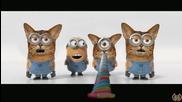 Миньоните : Котките # Despicable Me 2 Minions New Trailer Cats 2013 Official Minion Banana Movie Hd
