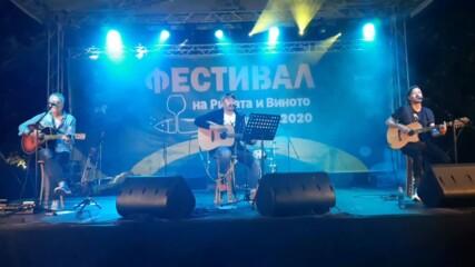 """Фестивал на рибата и виното 2020 в Бургас. Стефан Вълдобрев - """"По-полека"""""""