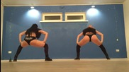 Две мацета се надиграват в Twerk dance