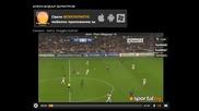 (шампионска лига) Реал Мадрид 4-1 Аякс (3.10.2012)