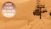 Постапокалиптичен сняг: Пясък от пустинята превърна ски писта в Марс