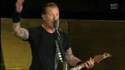 Live In Gothenburg Sweden 2011 | Metallica - Welcome Home ( Sanitarium )