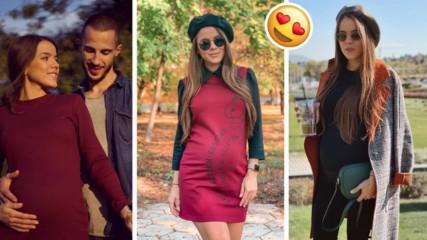 8 месеца и 8 килограма: Есенната приказка на бременната Теа Минкова