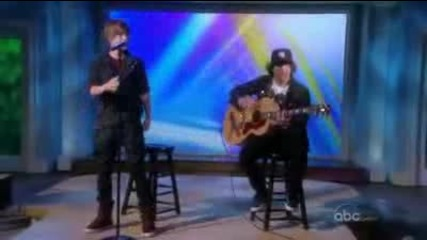 Justin Bieber - Never Let You Go Live