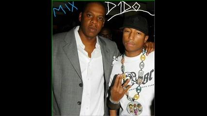 Jay-z Ft. Pharrell - La La La Excuse Me Miss Again (d1do Remix)