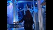 Стоян опипва гърдите на Деница и Нора:) - music idol 2 - 01.04.08 HQ