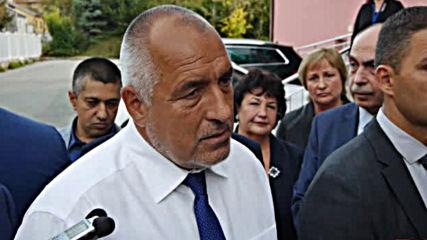 Борисов за акцията в БФС: Планирана е отдавна
