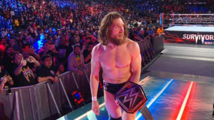 Daniel Bryan leaves Survivor Series with an evil grin: WWE.com Exclusive, Nov. 18, 2018