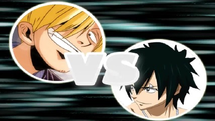 One Piece vs Fairy tail Flash Game Епизод 1