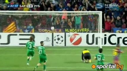Барселона - Рубин 2:0