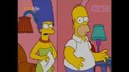 Семейство Симпсън - Мардж става кръчмарка С16е07 22.01.10