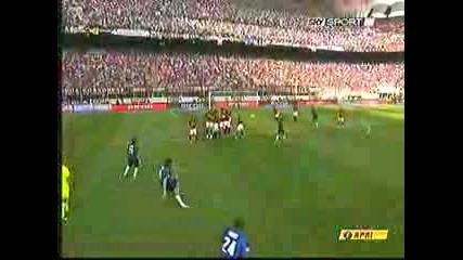 Милан - Интер 2:1 04.05.08г.