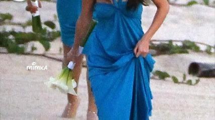 Джъстин и Селена на сватба в Мексико.. v.n,l.