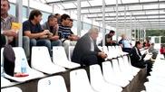 """Вижте какво представлява стадион \""""Димитър Бурков\"""" в Търговище"""